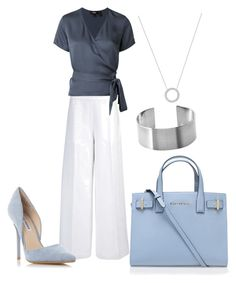 """""""Untitled #37"""" by wendy-ch on Polyvore featuring Joseph, Theory, Kurt Geiger, Michael Kors and Steve Madden"""