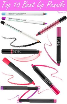 Best Cruelty Free Lip Pencils and Crayons via @Phyrra All cruelty free, some vegan!