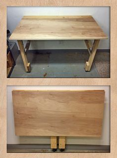 Easy to Build Folding Workbench   Cutting the cable