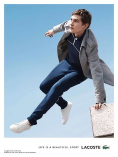 First Look: Lacoste Fall/Winter 2015 Campaign Starring Mathias Lauridsen