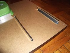 IKEA Hack: LACK coffee tables with TROFAST drawers and SIGNUM cable management
