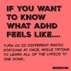 What it feels like to have ADHD – Talia G. What it feels like to have ADHD – Adhd Funny, Adhd Humor, Adhd Quotes, What Is Adhd, What Is Depression, Adhd Signs, Adhd Odd, Adhd Help, Adhd Brain