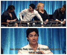 XD oh Ian and Paul X)