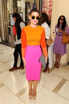 Kelly Osbourne got on the worst-dressed list for this, but I think it's kinda cool :) What do you think?