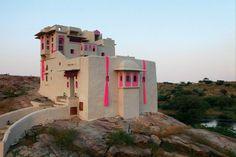 Luxury heritage hotel Lakshman Sagar in Raipur, Rajasthan