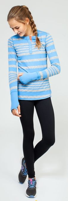 go from school to warm up in this cozy Rulu™ fabric henley.   LS Henley