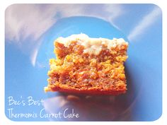 Bec's Best Thermomix Carrot Cake