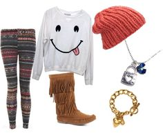 """""""smileyy"""" by angelface143 ❤ liked on Polyvore"""
