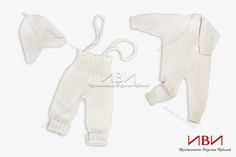 """Knitted set for kids """"Bamboo"""""""