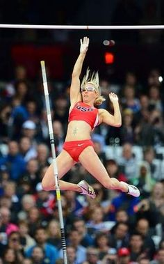Reno's Becky Holliday! 2012 Olympics: Track and Field-Women's Pole Vault