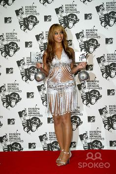 Beyonce at the 2003 MTV Europe Music Awards