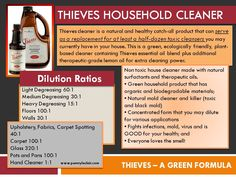 Thieves Household Cleaner 1 Thieves Household Cleaner, Thieves Cleaner, All Natural Cleaning Products, Diy Cleaning Products, Diy Products, Homemade Cleaning Supplies, Cleaning Recipes, Young Living Thieves, Young Living Essential Oils