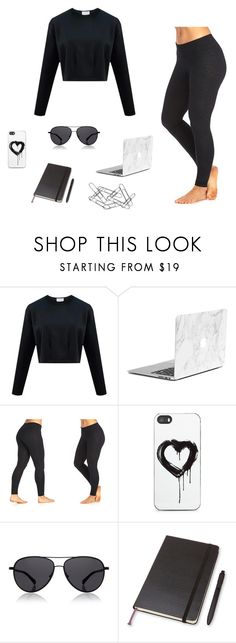 """〰"" by malinas01 on Polyvore featuring The Balance Collection by Marika, Zero Gravity, The Row, Moleskine and Home Decorators Collection"