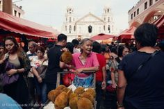 Fruit Street Seller at Quinta Market, Manila. Woman holding marang (Artocarpus odoratissimus) a nutritious and healthy tropical fruit indigenous to the Philippines. It is rich in pro-vitamin A and other vitamins. Marang is widely available at local markets in the South of the Philippines, Indonesia and Malaysia.