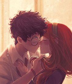 Gina Harry Potter, Harry Potter Comics, Harry And Ginny, Lily Potter, Harry Potter Ships, Harry Potter Drawings, Harry Potter Jokes, James Potter, Harry Potter Fan Art