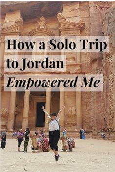 How a Solo Trip to Jordan Empowered Me! Female vagabond adventuring in the MidEast - here's how she did it.
