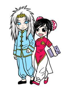 Li-en and wonrei chibi