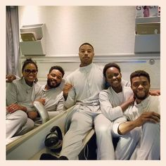 Black Panther: 19 Photos of the Gorgeous (and Badass) Cast Hanging Out in Real Life Black Panthers, Black Panther Marvel, Black Panther Movie Cast, Wakanda Marvel, Michael Bakari Jordan, My Black Is Beautiful, Black Power, Black People, Swagg