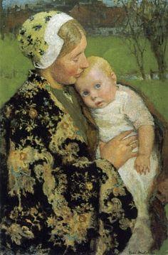 Gari Melchers: Motherhood.