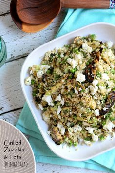 Must Read: Grilled Zucchini and Feta Quinoa Salad February 5, 2015Leave a CommentGrilled Zucchini and Feta Quinoa Salad by The Cook's Pyjamas