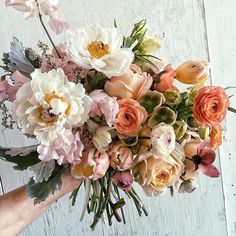 This bridal bouquet is so adorable. Amazing colors and flowers like peonies ran 2019 This bridal bouquet is so adorable. Amazing colors and flowers like peonies ranunculus and many My Flower, Flower Power, Beautiful Flowers, Cactus Flower, Exotic Flowers, Flower Colors, Beautiful Textures, Floral Flowers, Purple Flowers
