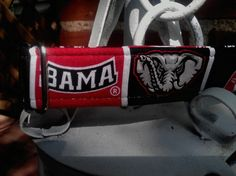Roll Tide University of Alabama dog collar by fureveryours on Etsy, $12.00