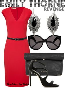 Inspired by Revenge character Emily Thorne played by Emily VanCamp.