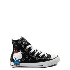 93a73c85e1b0e1 Browse the Converse Hello Kitty collection at Journeys Kidz! Get the  Exclusive Youth Converse Chuck