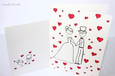 wedding card VIII
