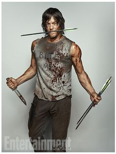 'Walking Dead': New EW Character Portraits, Daryl Dixon