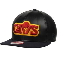 e5fb8b1c326 Cleveland Cavaliers New Era Perfly Stated 9FIFTY Adjustable Hat - Black