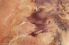 Kasei Valles, Mars, from Mars Express Galaxy Wonder, Nasa, Water On Mars, Mars Surface, 3d Foto, Space Probe, Red Planet, Space Photos, Space Images