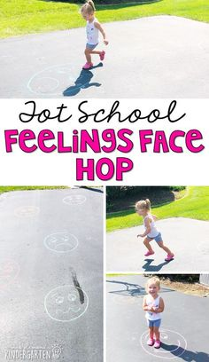 Tot School: About Me Learning is more fun when it involves movement! Work on identifying emotions with this feelings face hop activity! Great activity for an all about me theme in tot school, preschool, or even kindergarten! All About Me Activities For Toddlers, All About Me Preschool Theme, Toddler Learning Activities, Kindergarten Learning, Early Learning, Infant Lesson Plans, Lesson Plans For Toddlers, Preschool Lesson Plans, Social Emotional Activities