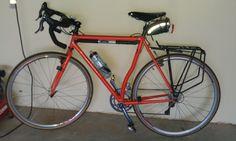 Custom Stevenson fillet brazed bicycle.