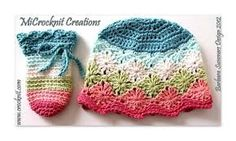 free crochet baby hat pattern - Google Search