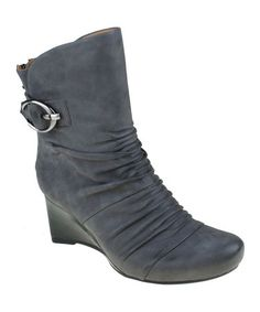Take a look at this Dark Gray Chelsea Ankle Boot by Earthies on #zulily today!