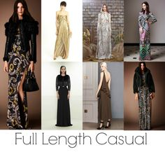 Pre-Fall 2014 Fashion Trends - Full Length Casual