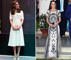 A selection of the most stylish fashion choices by Catherine, Duchess of Cambridge, over the years. Looks Kate Middleton, Duchess Of Cambridge, Stylish, Daily Mail, Dresses, Princess, Photos, Fashion, Fashion Ideas