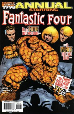 Fantastic Four Annual 1998 by Stuart Immonen & Cam Smith