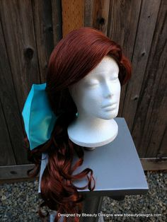 Anastasia Princess Wig with Bow Screen Quality by BbeautyDesigns