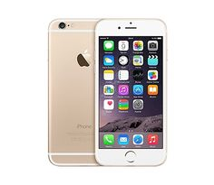 The Apple iPhone 6 Gold represents Apple's second largest departure in terms of design since the iPhone and starts in an era of rounded aesthetics. Equipped with a display, the Apple iPhone 6 Gold is also much larger than its ancesto Iphone 6 Gold, Iphone 6 Plus Gold, Buy Iphone 6, Iphone 6 16gb, Iphone Phone, Coque Iphone, New Iphone, Phone Cases, Iphone Unlocked