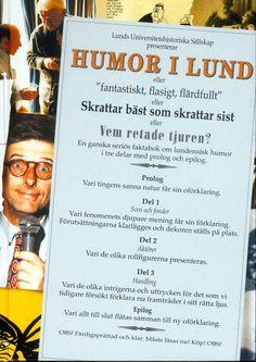 Humor i Lund av Patrick Meurling. Från Historiska Media.