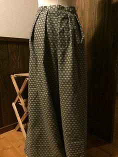袴パンツの作り方