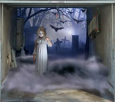 1000 Images About Halloween Decorations For Garage Doors
