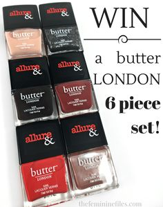The Allure & Butter London Arm Candy Collection   Review & Giveaway!