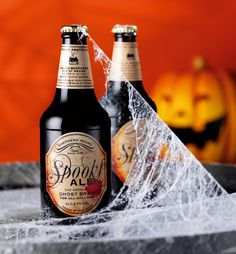 Spooks Ale - The Official Ghost Brew for All Hallows - drink if you dare