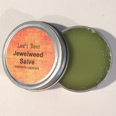 Jewelweed Salve - Wild-Foraged Botanical and Organically Raised Beeswax All Natural by LeesBeesNJ on Etsy