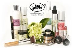 Low toxicity and mostly vegan (all except the mascara) make-up, brushes and skin care line.