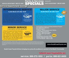 #Car #service #savings Valid For The Month Of #January 2014! Come