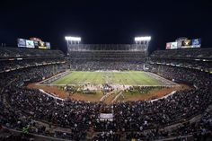 oakland raiders stadium | In Oakland, the Raiders play in one of the worst stadiums in major ...